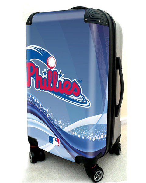 "Philadelphia Phillies, 21"" Clear Poly Carry-On Luggage by Kaybull #PHI11 - OBM Distribution, Inc."