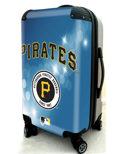 "Pittsburgh Pirates, 21"" Clear Poly Carry-On Luggage by Kaybull #PIT6 - OBM Distribution, Inc."
