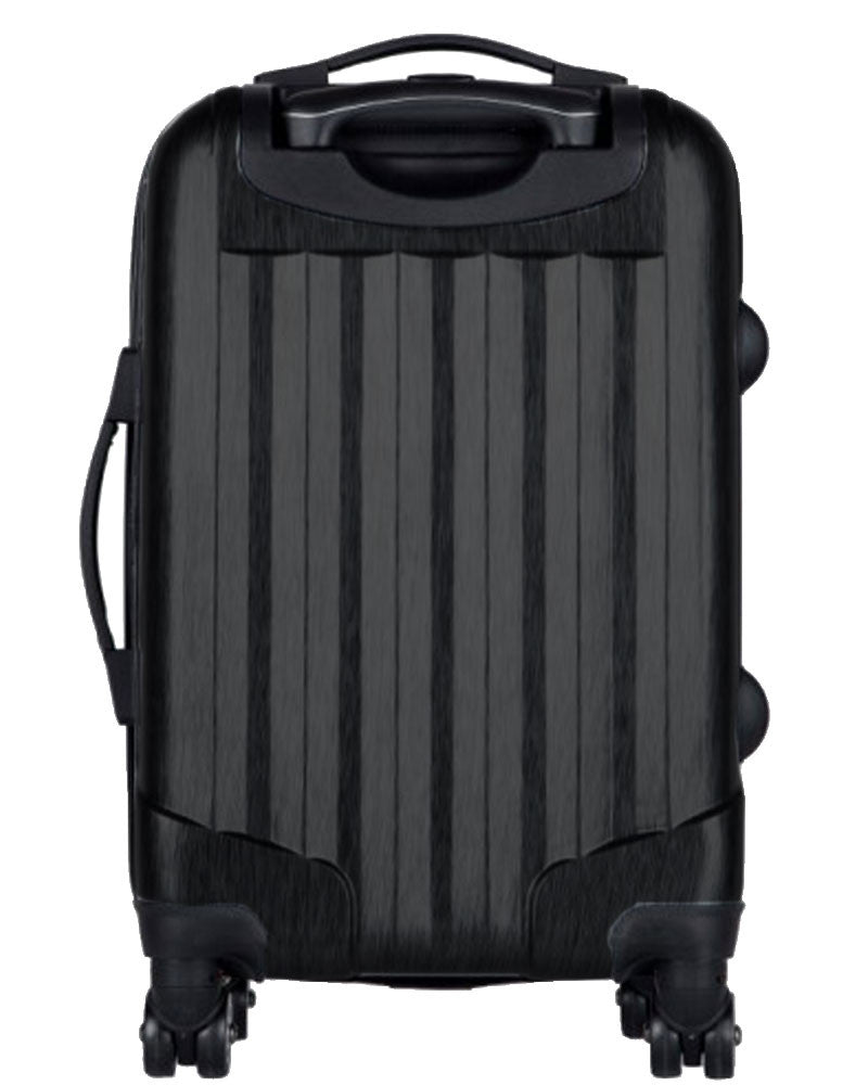 "New York Mets, 21"" Clear Poly Carry-On Luggage by Kaybull #NYM2 - OBM Distribution, Inc."