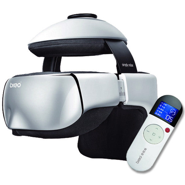 Breo iDream3 Eye & Head Massager - OBM Distribution, Inc.
