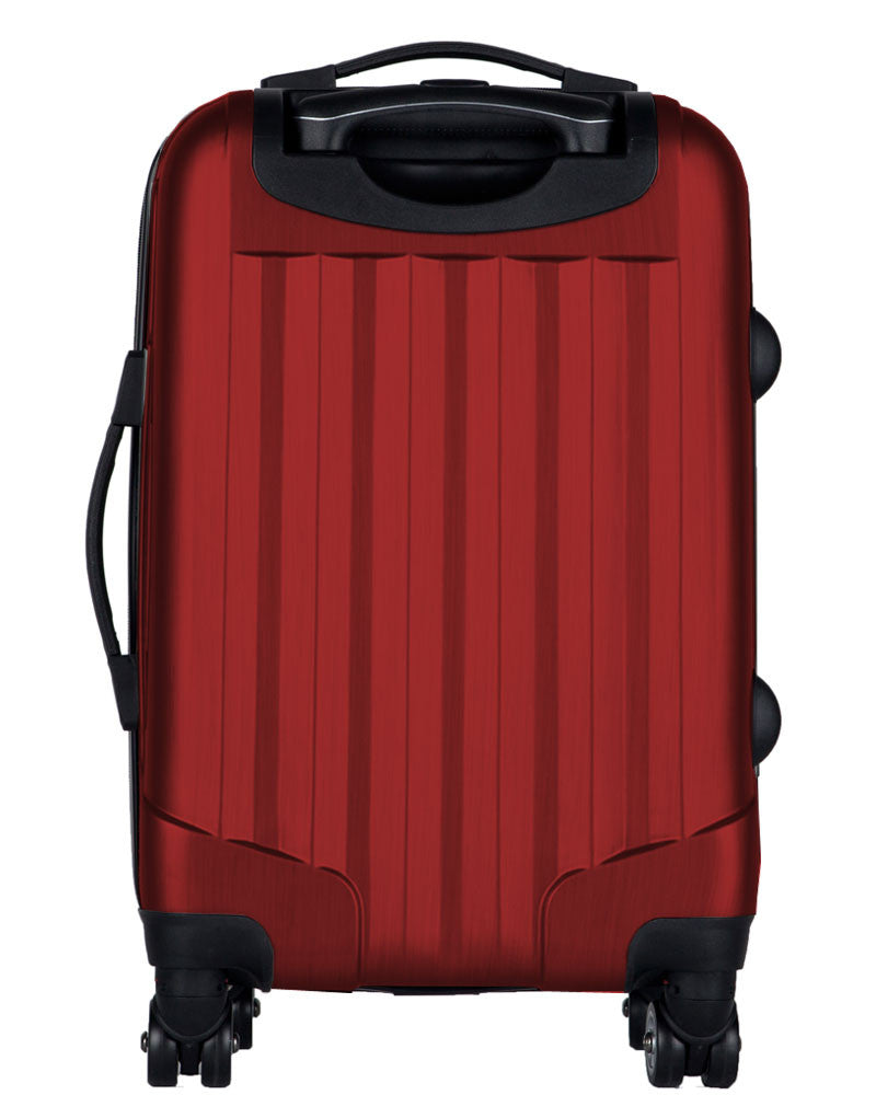 "Tampa Bay Rays, 21"" Clear Poly Carry-On Luggage by Kaybull #TAM7 - OBM Distribution, Inc."