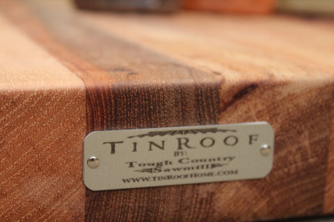 Tinroof Canopy Cutting Board
