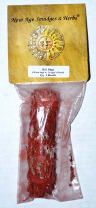 Dragons Blood and White Sage Smudge Stick 3-4