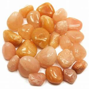 Aventurine, Orange Tumbled Stones