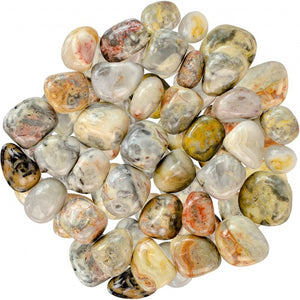Crazy Lace Agate Tumbled Stones