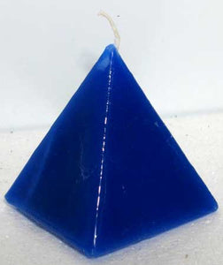 Blue Jasmine Pyramid Candle