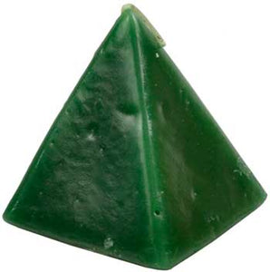 Green Cherry Pyramid Candle