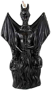 Devil With Wings Black Candle