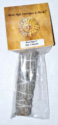 Blue Sage Smudge Stick 4