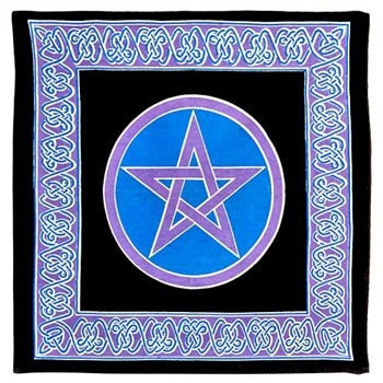 Pentacle (Heavy Canvas) Altar Cloth 24