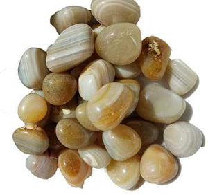 Banded Agate Tumbled Stones