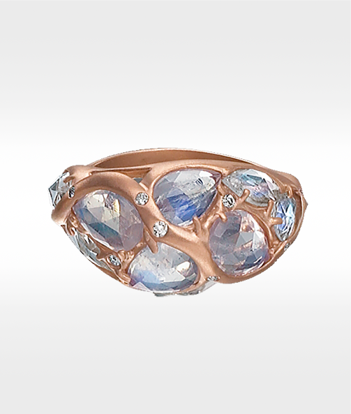 Discover the Rose Cut Milky Way Ring