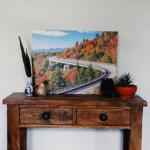 Canvas Photographic Print - Blue Ridge Parkway
