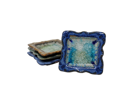 Down to Earth Pottery Square Tray