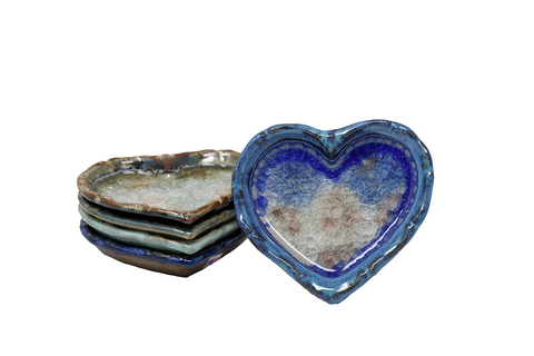 Down to Earth Pottery Heart Tray