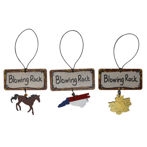 Blowing Rock Ornaments