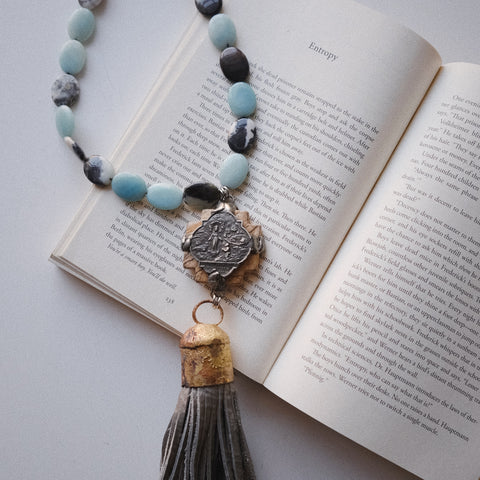 One of a Kind Handmade Tassel Necklace