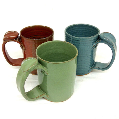 Rust Pottery Large Mugs