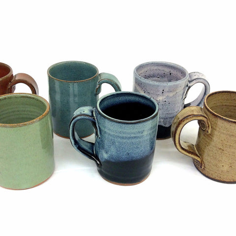 Rust Pottery Mini Mug