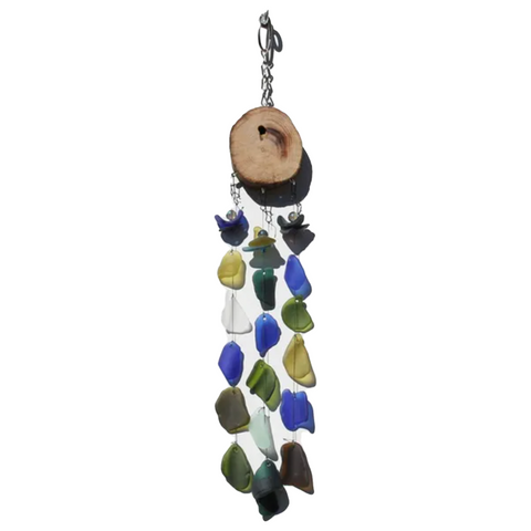 Bottle Benders Recycled Sea Glass Chime - Ursula