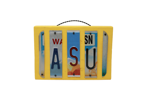 License Plate Sign - ASU