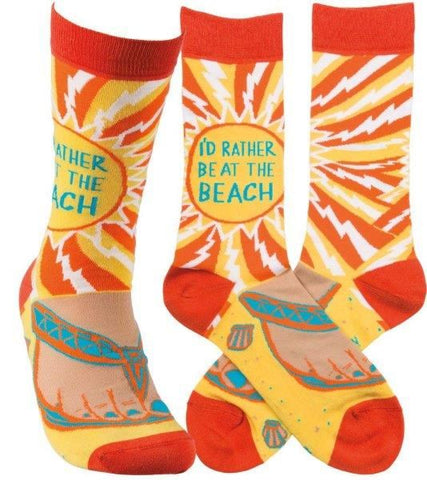 Socks - I'd Rather Be at the Beach