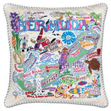 Hand Embroidered Catstudio Pillows (Worldly)
