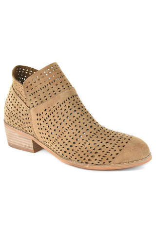 Brier Bootie - Taupe