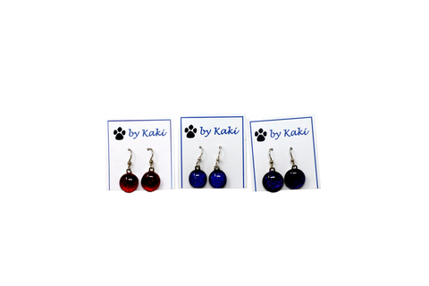 Kaki's Dot Dangle Earrings