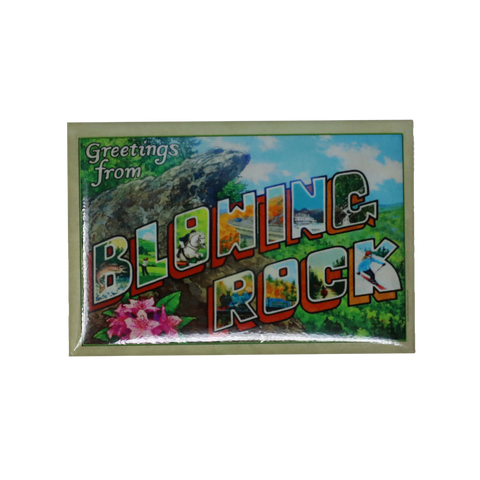 Blowing Rock Mural Magnet