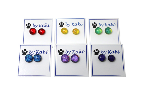 Kaki's Dot Earrings