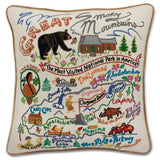 Hand Embroidered Catstudio Pillows (National Parks)