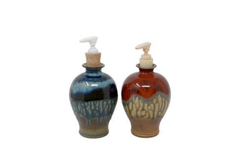 Ray Pottery Soap Dispenser
