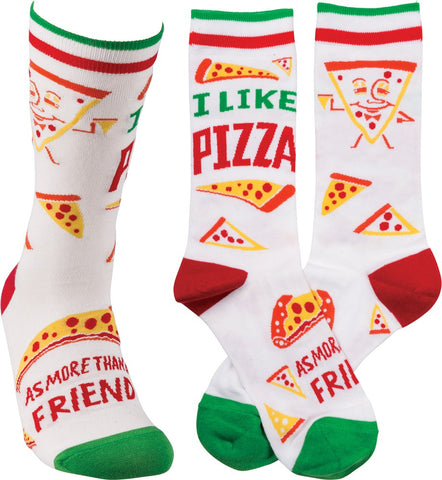 Socks - I Like Pizza