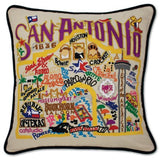 Hand Embroidered Catstudio Pillows (Cities)