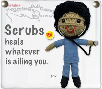 Kamibashi String Doll - Scrubs