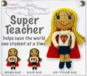 Kamibashi String Doll - Super Teacher
