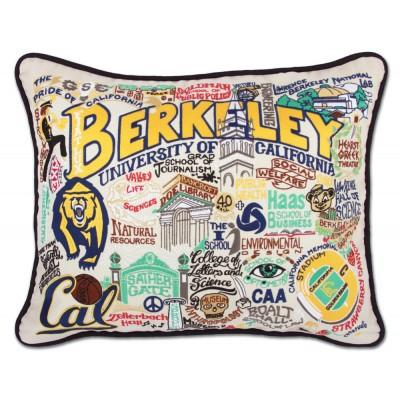Berkeley Hand Embroidered CatStudio Pillow