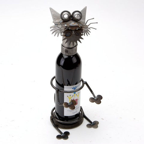 Merlot the Cat Wine Holder - F120