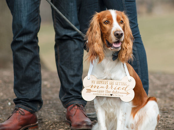 Pet Save the Date Wedding Sign