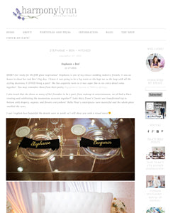 wedding blog decor ideas feature