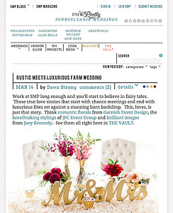 wedding blog for ideas and decor