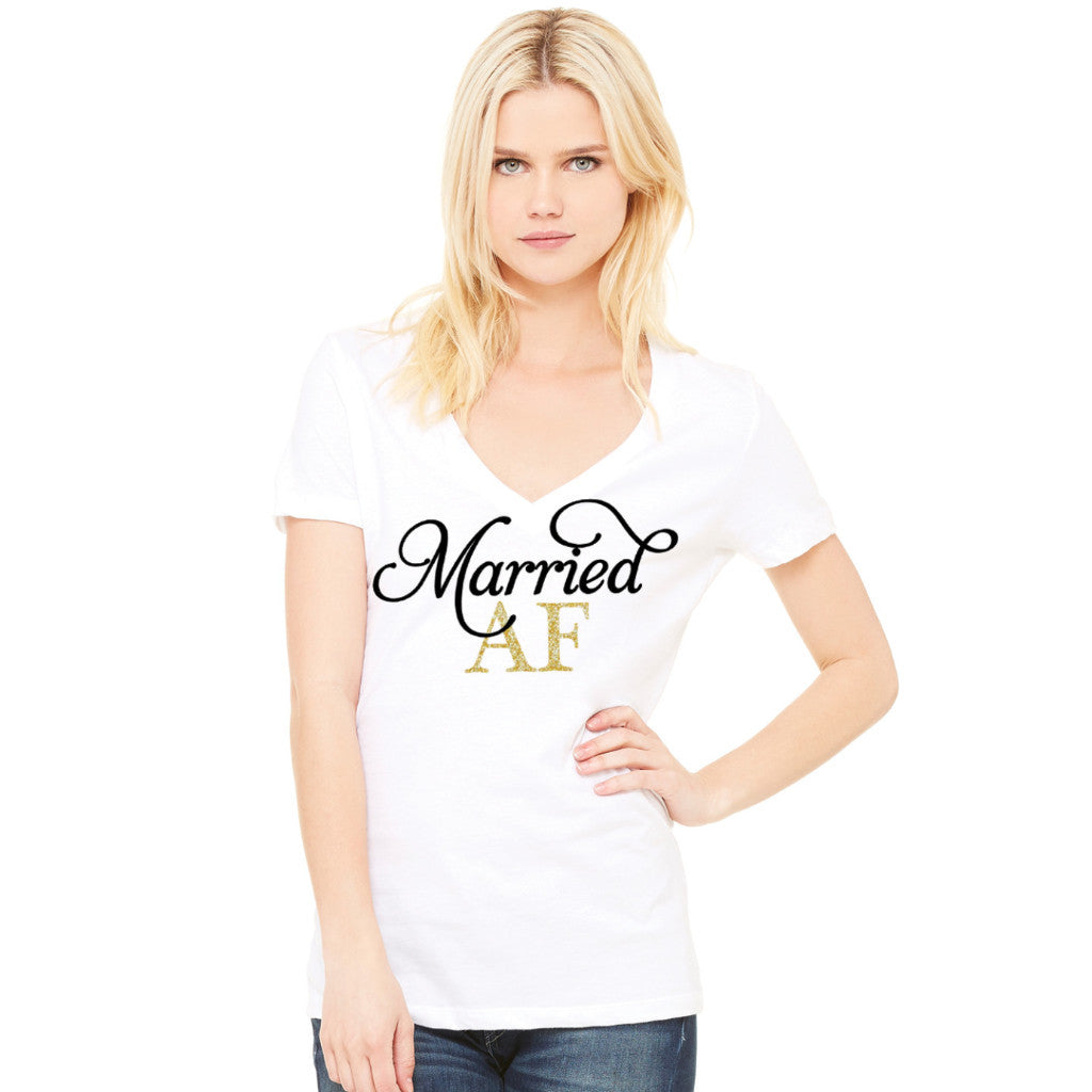 Married AF Shirt - Wedding Decor Gifts