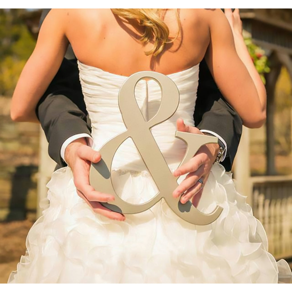 Ampersand Sign - 12 Inch - Wedding Decor Gifts