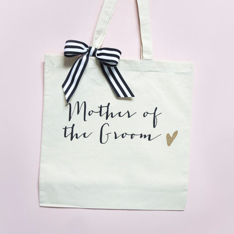 Glam Mother of the Groom Wedding Tote Bag - Wedding Decor Gifts