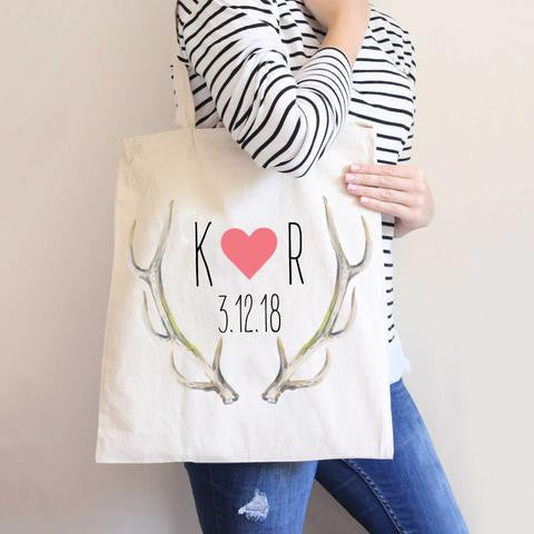 Boho Antler Wedding Bag