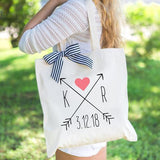 Arrow Wedding Tote Bag - Wedding Decor Gifts