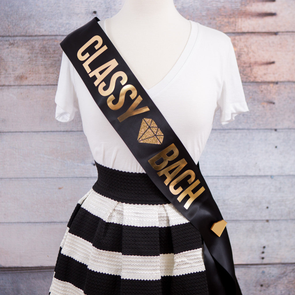 Bachelorette Sash for Bride and Bridesmaids - Wedding Decor Gifts