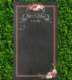 Chalkboard Style Personalized Banner - Wedding Decor Gifts