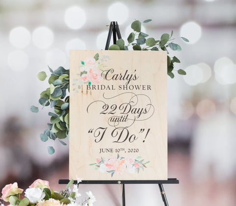 Bridal Shower Welcome Sign - Wedding Decor Gifts